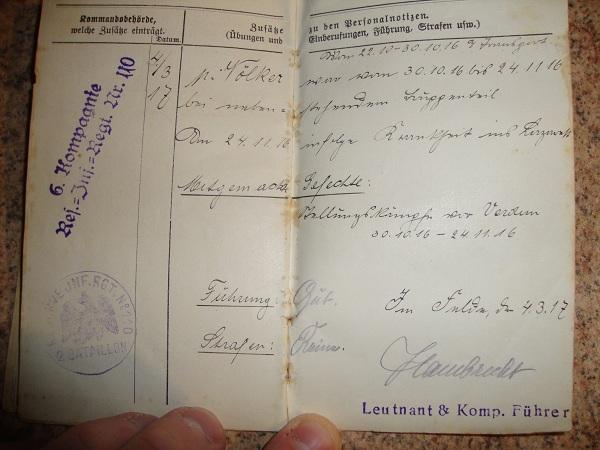Traduction militarpass et wehrpass d'un suisse ayant combattu pour les allemands Dsc02062qa