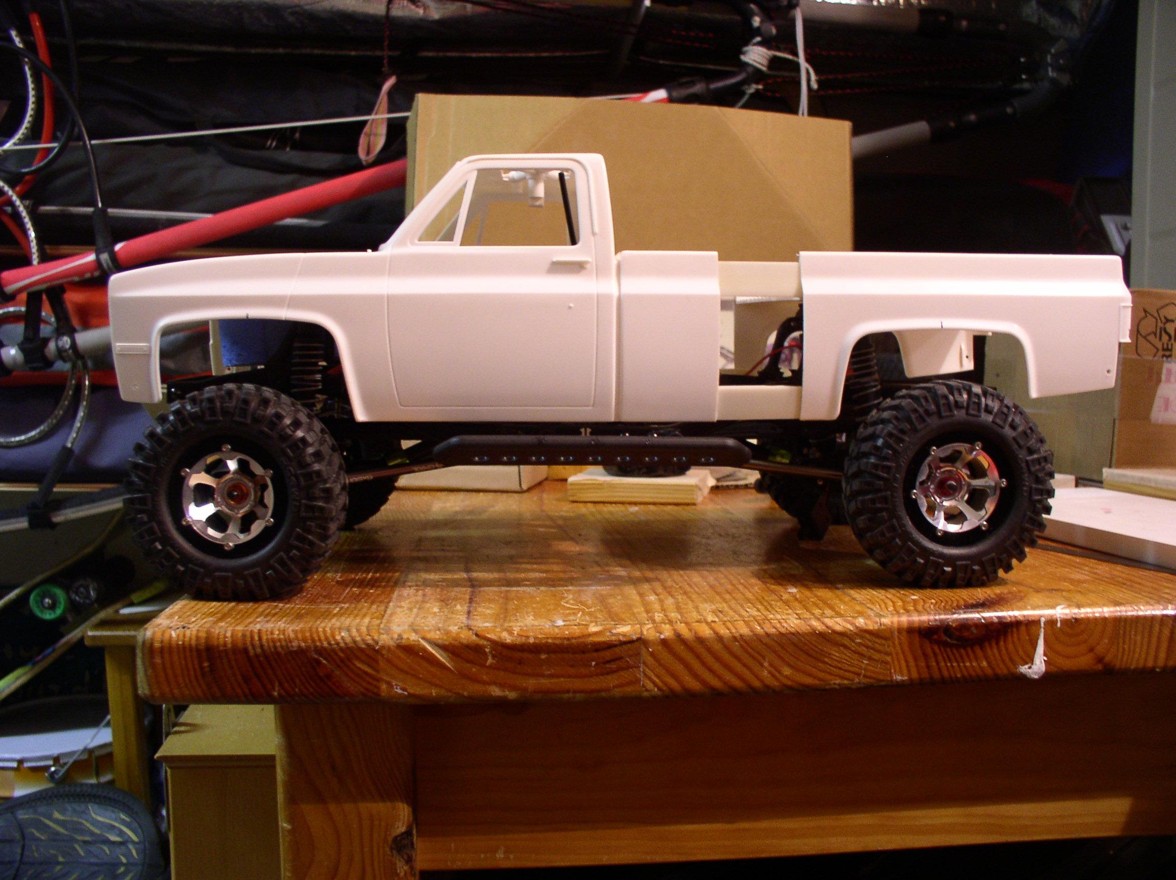 Mon Chevrolet K5, benne rallongée  (châssis SCX10)  52041446