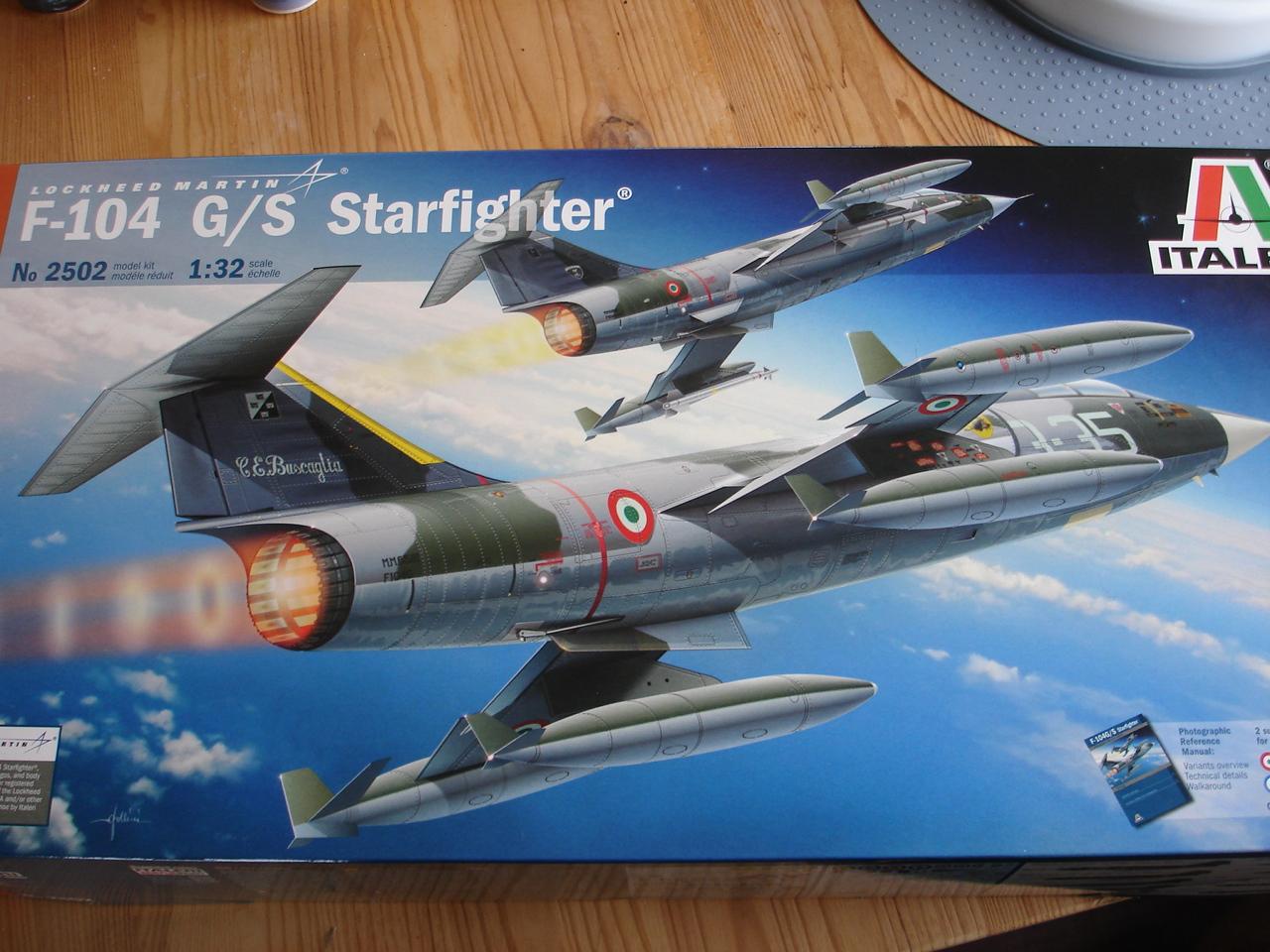 F-104 G Starfighter Italeri 1/32e Hs8n