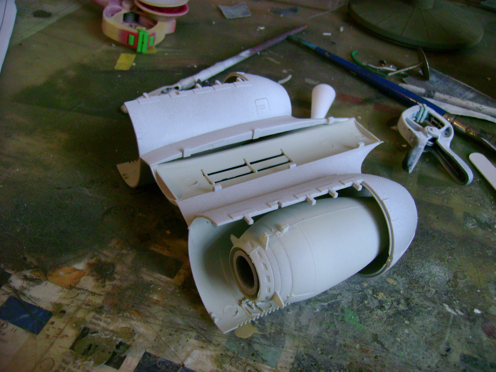 A-10 Thunderbolt II...1/32 Trumpeter + PE Edouard....( T-Bird) Up 02/12... 71078653