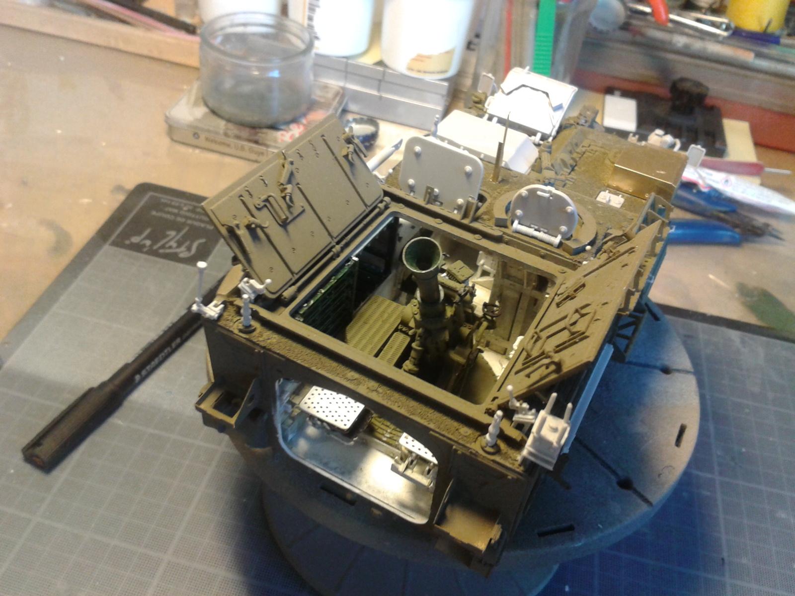 Stryker M1129 Mortar Carrier MC-B ...Montage terminé !!!! - Page 2 3pzl