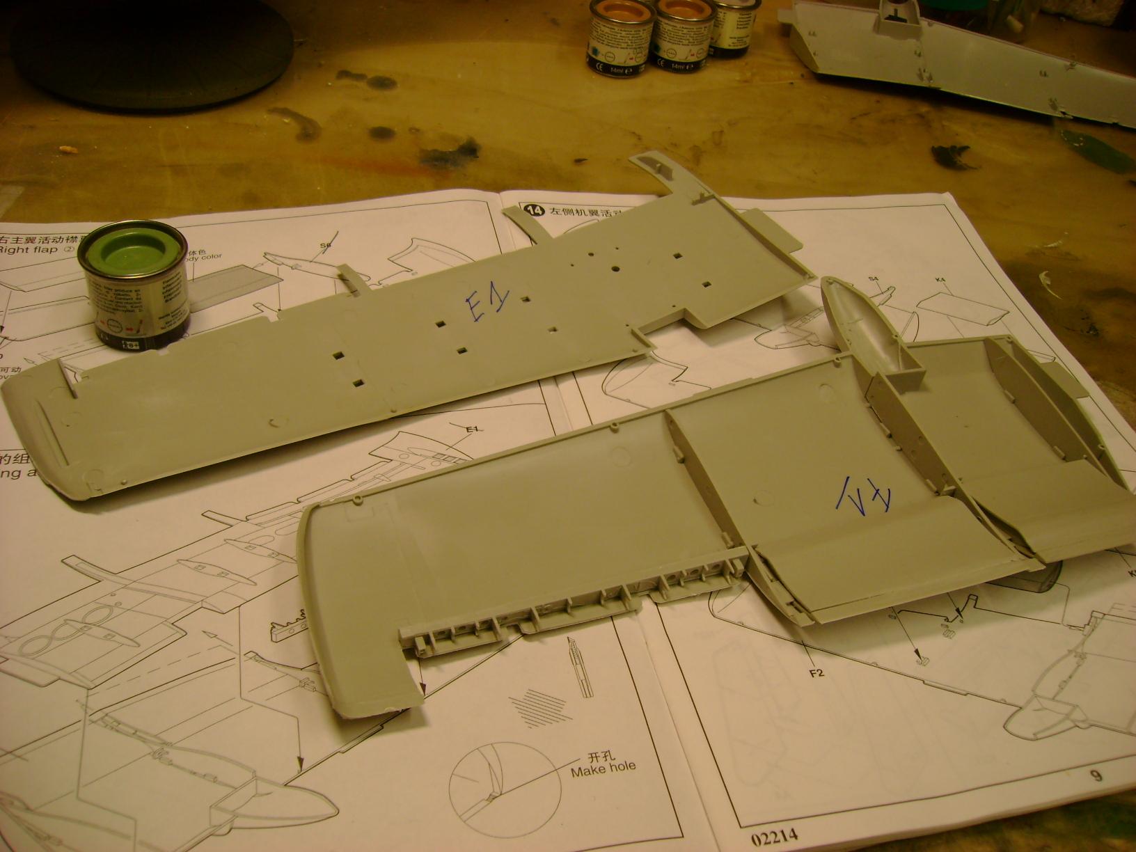 A-10 Thunderbolt II...1/32 Trumpeter + PE Edouard....( T-Bird) Up 02/12... 73102373