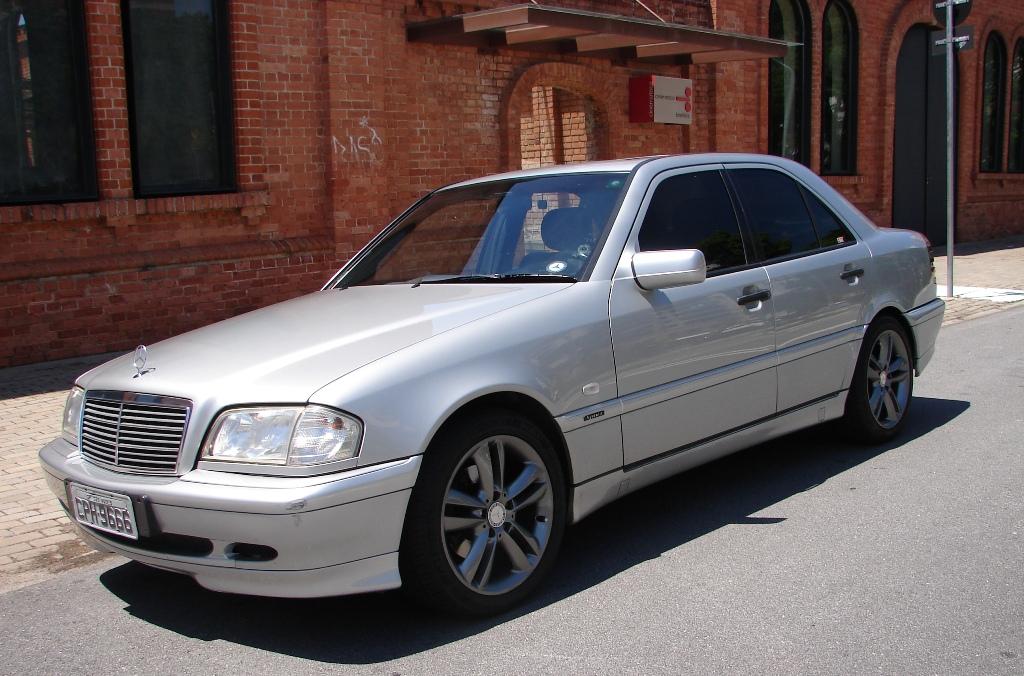 Vendo minha C 230 Kompressor  Sport 1998 - VENDIDO 61Kvla