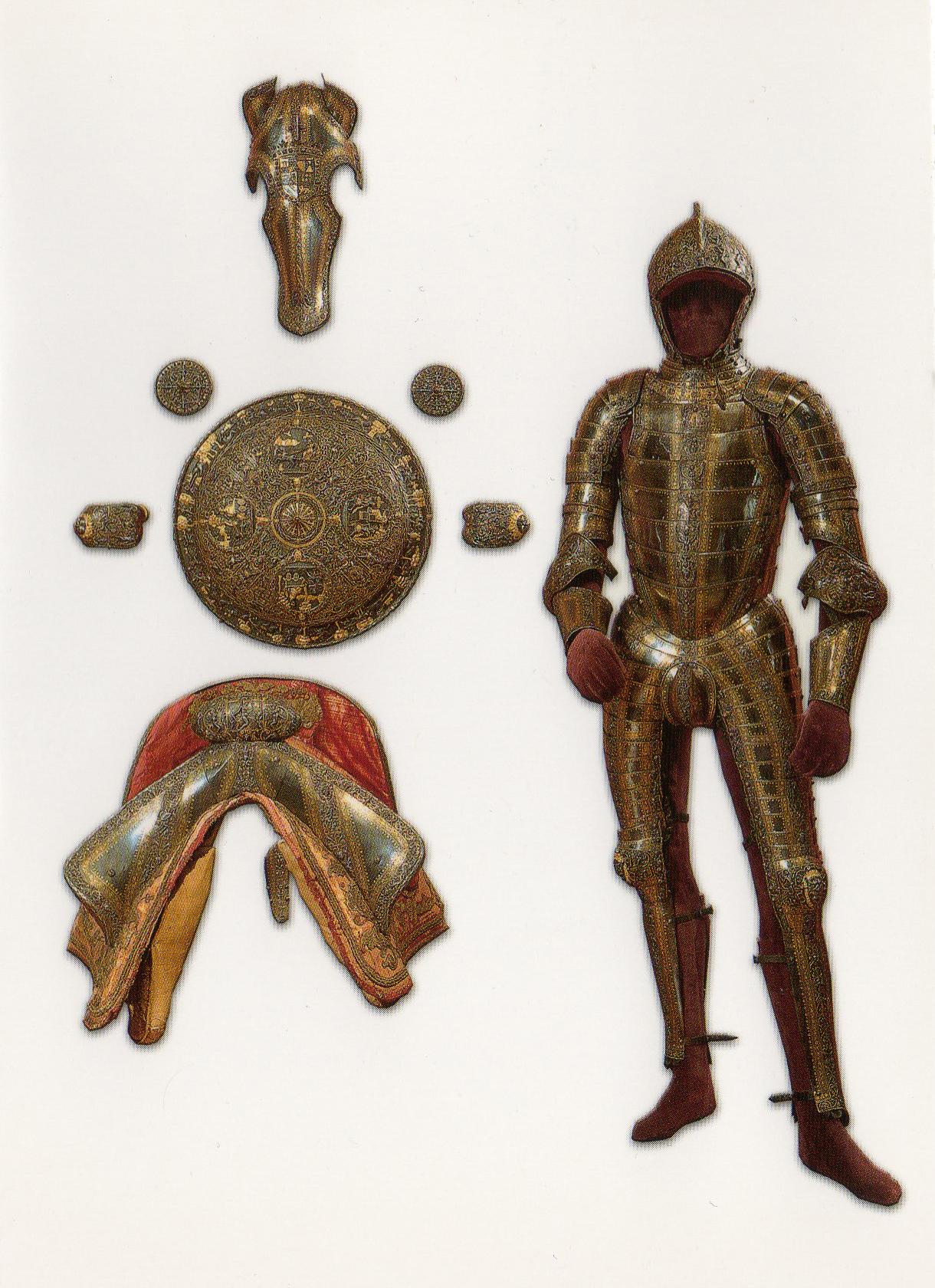 Armaduras y armas de los caballeros TIEGFp