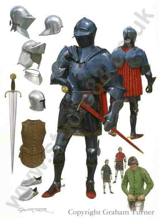 Armaduras y armas de los caballeros 1cd12e