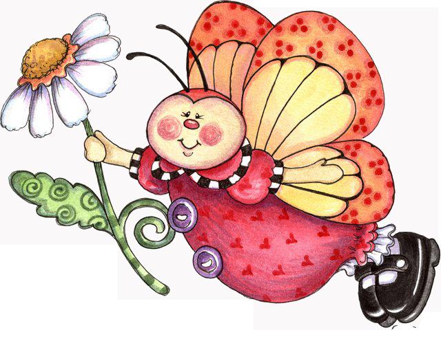Mariposa y Flor 6Mv9lC