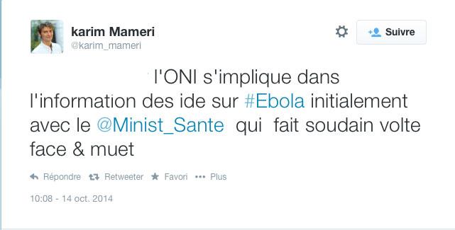 Karim Mameri pris en flagrand délit de mensonge sur Twitter ... T96r34