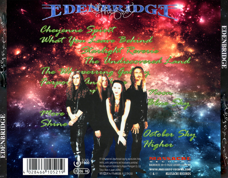 Edenbridge - Аll The Best (Japan Edition) (2014) G4LWHD