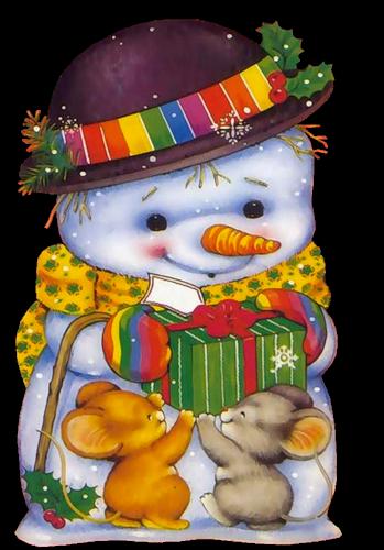 Muñeco de Nieve ZrLSJx