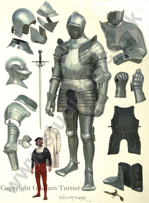 Armaduras y armas de los caballeros U0lfgc