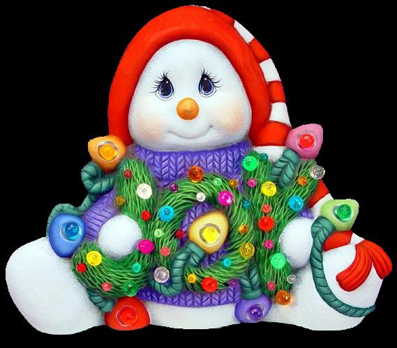 Muñeco de Nieve Genc43