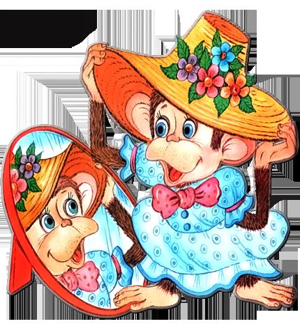 Monita y Espejo 8JeNEY