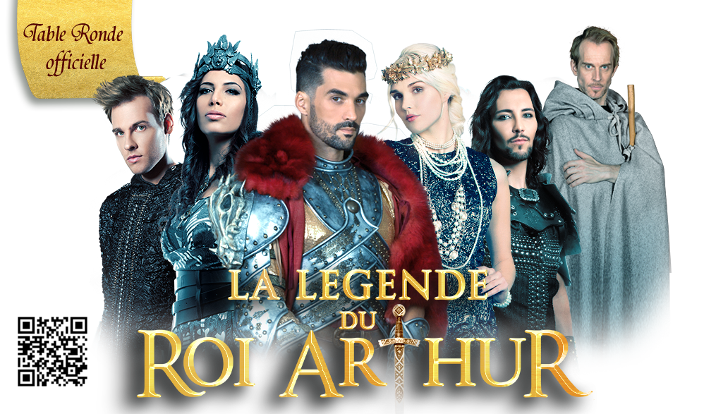 La légende du Roi Arthur, la table ronde