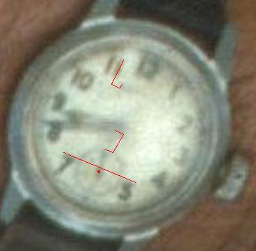 Alan Grant's Wristwatch In JP1 3E8IBy