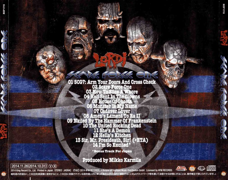 Lordi - Scare Force One (Japan Edition) (2014) FeS2Qm