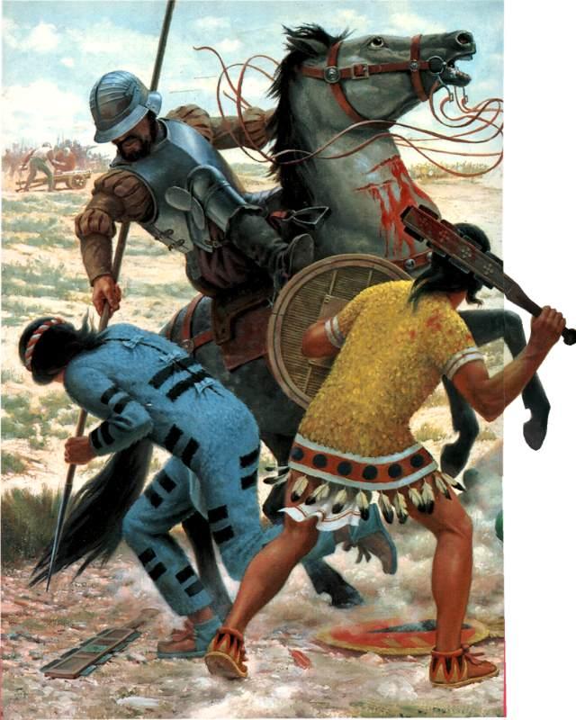 Armamento y equipo de los conquistadores españoles en el norte de América OxHbnT