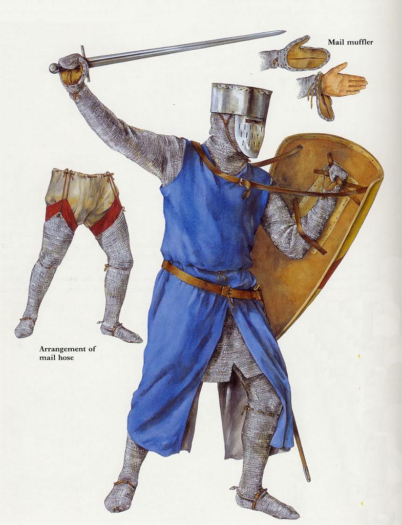 Armaduras y armas de los caballeros HqeddK