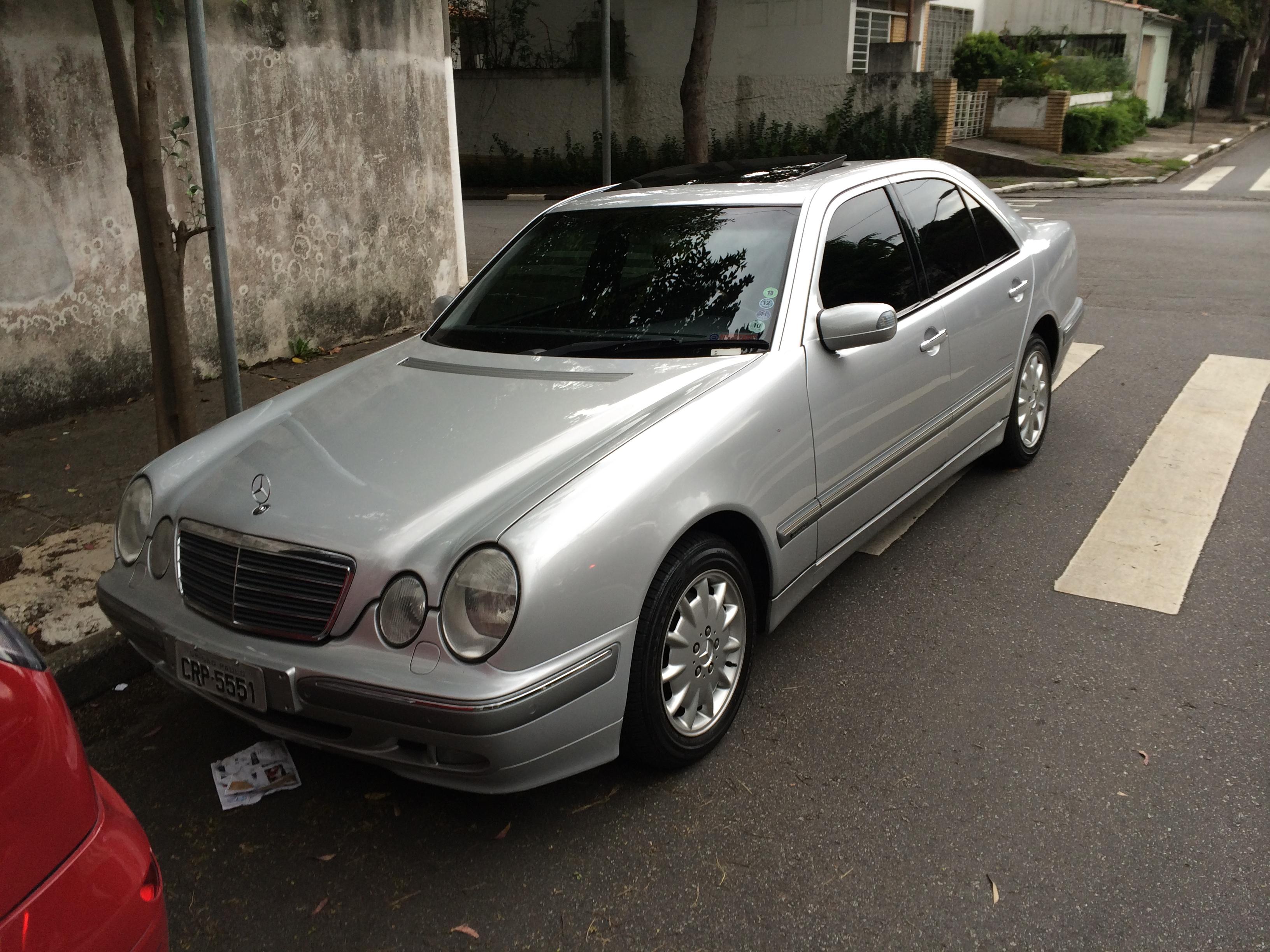 (VENDO): W210 E320 Elegance 2001 - R$37.000,00 - ARQUIVO YZ0iE1