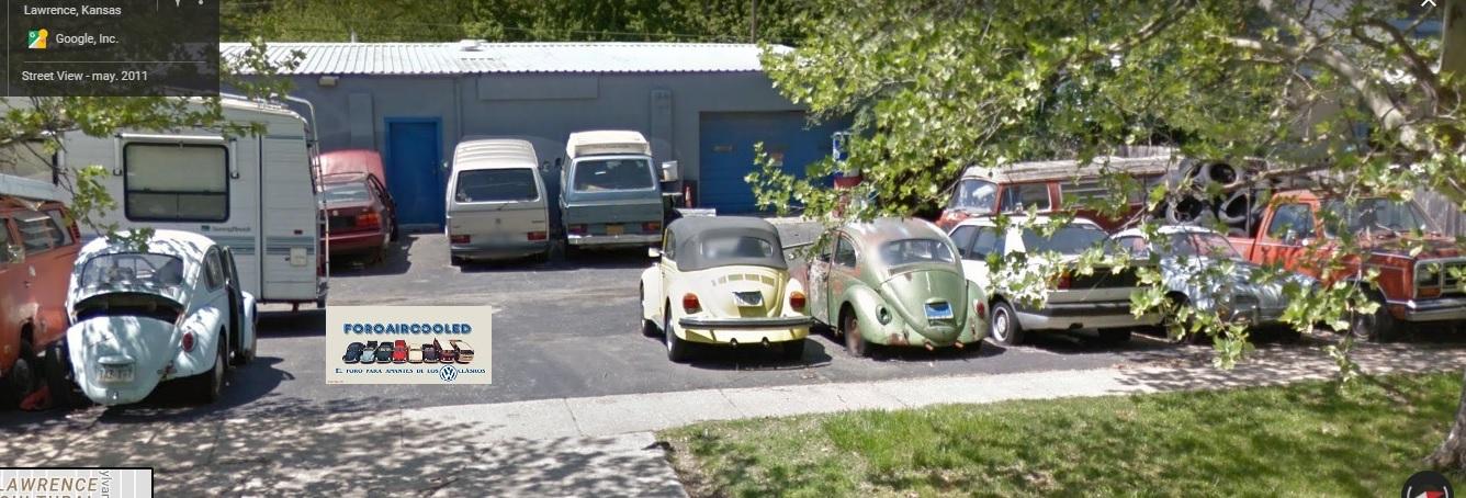 street view y VW's...  RkJ68V
