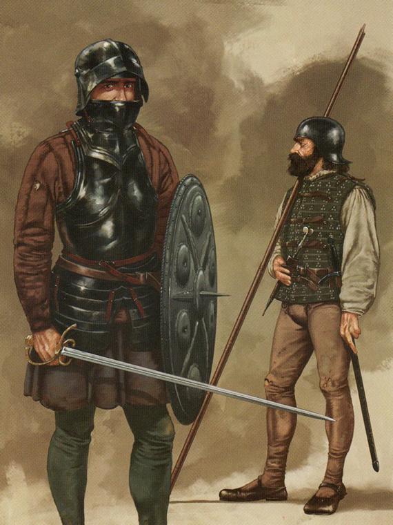 Armamento y equipo de los conquistadores españoles en el norte de América N0OBWh