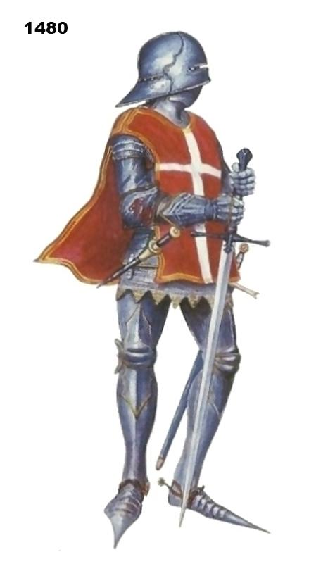 Evolución del aspecto en combate de los caballeros hospitalarios (1160-1480) LCxkMl