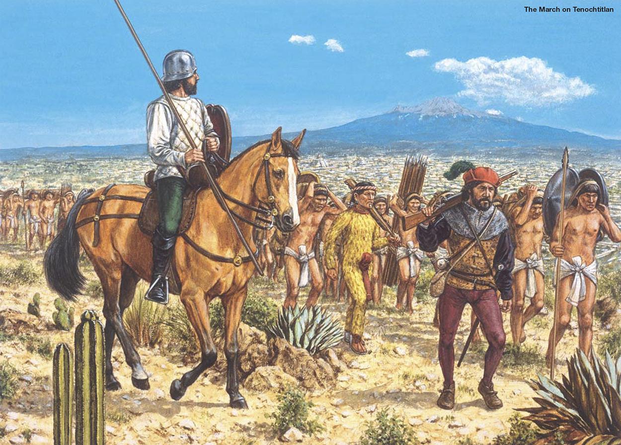 Armamento y equipo de los conquistadores españoles en el norte de América Gt1nMM