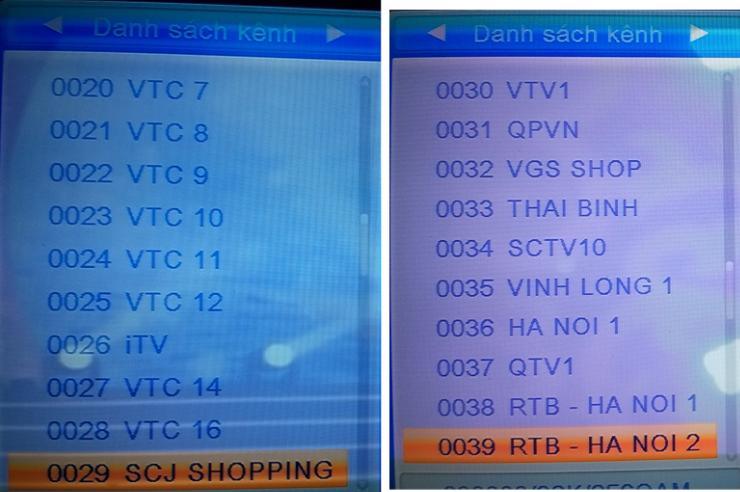 [Review] Cảm nhận nhanh về đầu thu kts mặt đất DVB T206 của VTC Ttbq58
