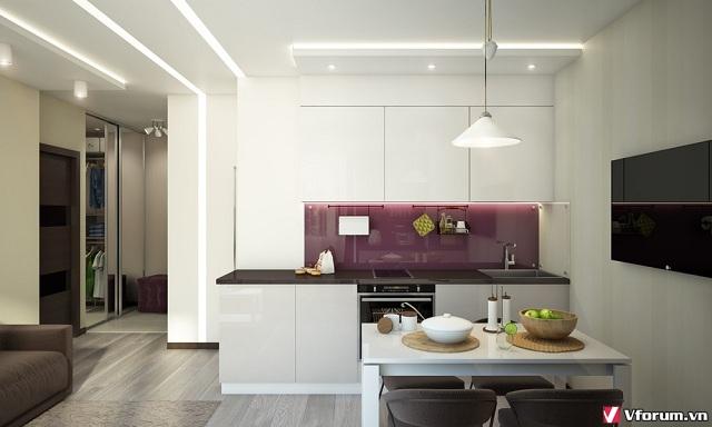 Thiết kế phòng bếp tuyệt đẹp – tiện nghi cho các căn hộ chung cư GBistO