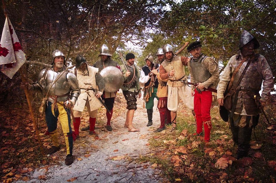 Armamento y equipo de los conquistadores españoles en el norte de América 13Usm0
