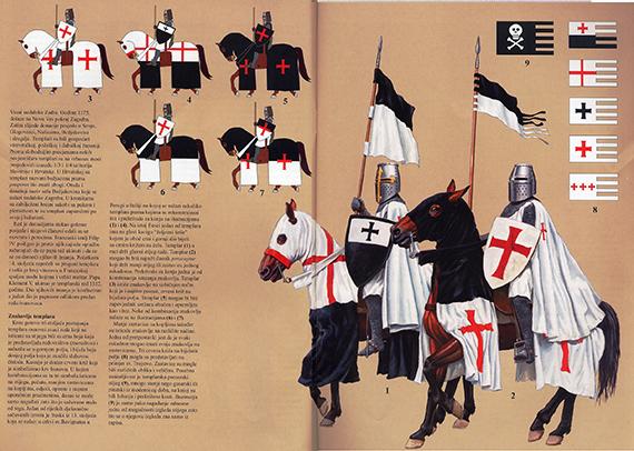 La Orden Militar del Temple (1118-1310) Armaduras, armas y equipamiento UAz0QX