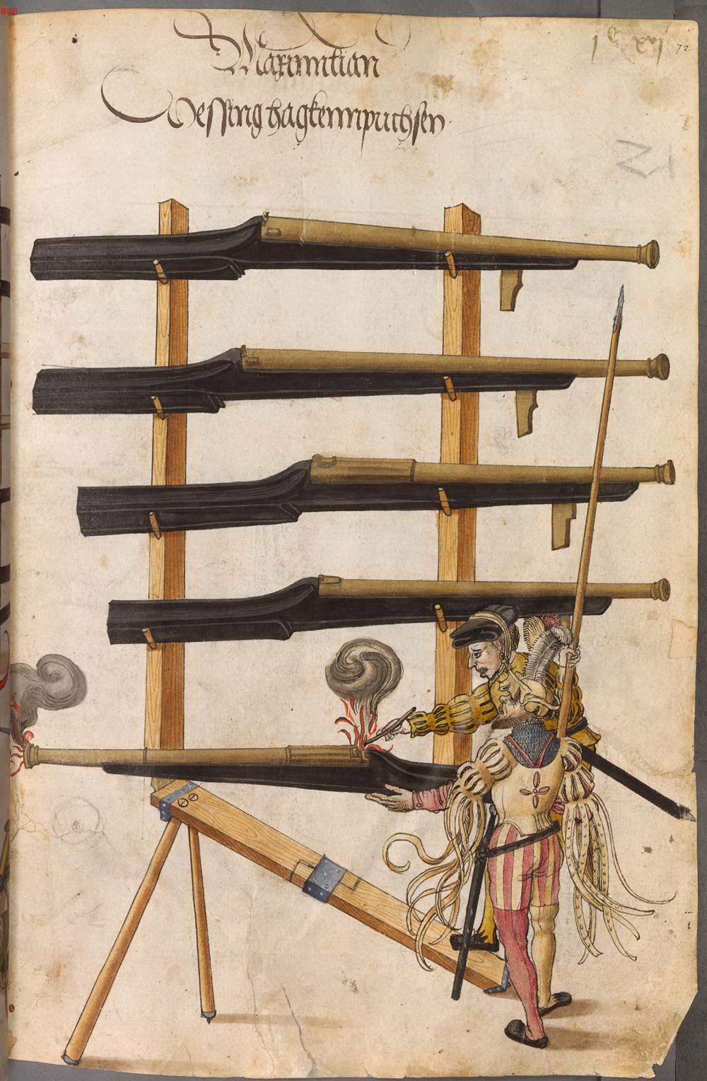 Libro de armamentos del emperador Maximiliano I (1502) 7IMKTq