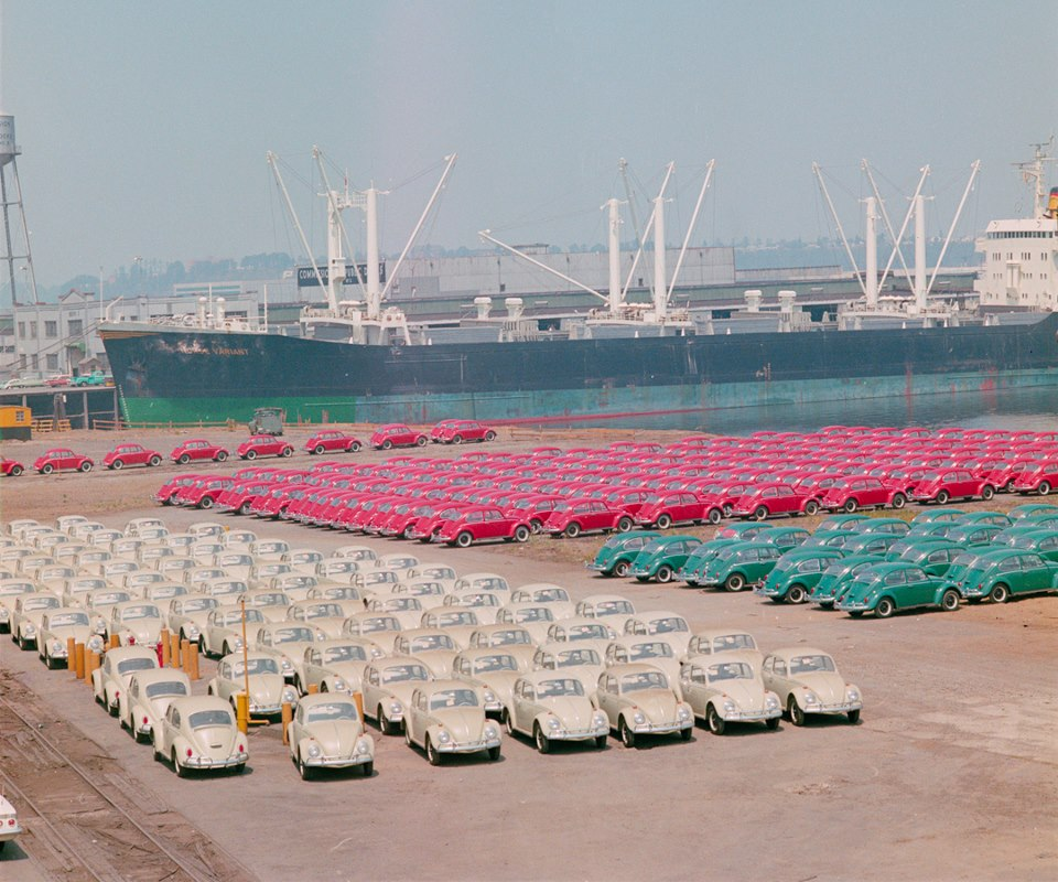fotos viejas de VW's in USA  HbW538