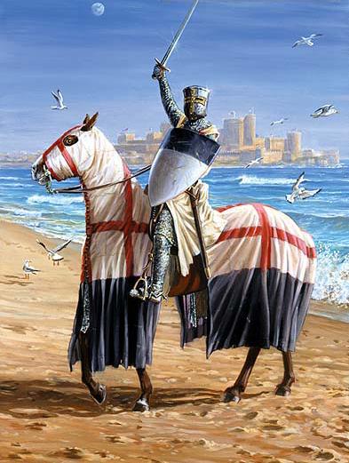 La Orden Militar del Temple (1118-1310) Armaduras, armas y equipamiento IANoqc