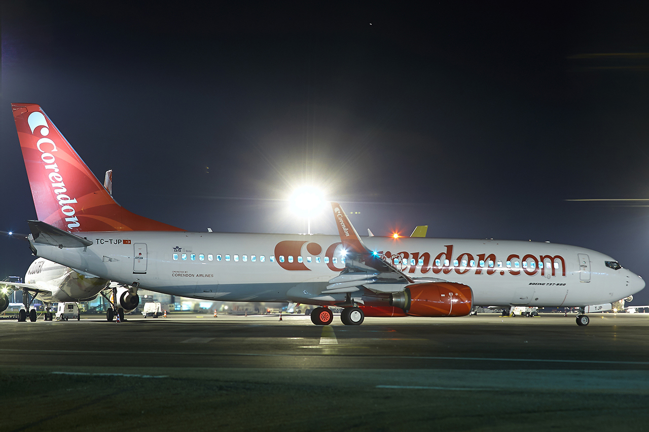 [03/11/2016] Boeing 737-800 (TC-TJP) Corendon Airlines GHD4C0