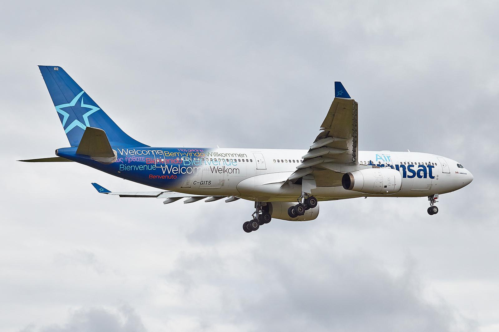 """[08/08/2017] Airbus A330-200 (C-GITS) Air Transat aka """"Planeur des Açores"""" 6xWVoH"""