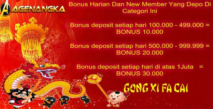 Promo Bonus Gong Xi Fa Cai 2019 Sambut Tahun Baru Imlek 2570 (Special 2D Singapore)  3HUSOe