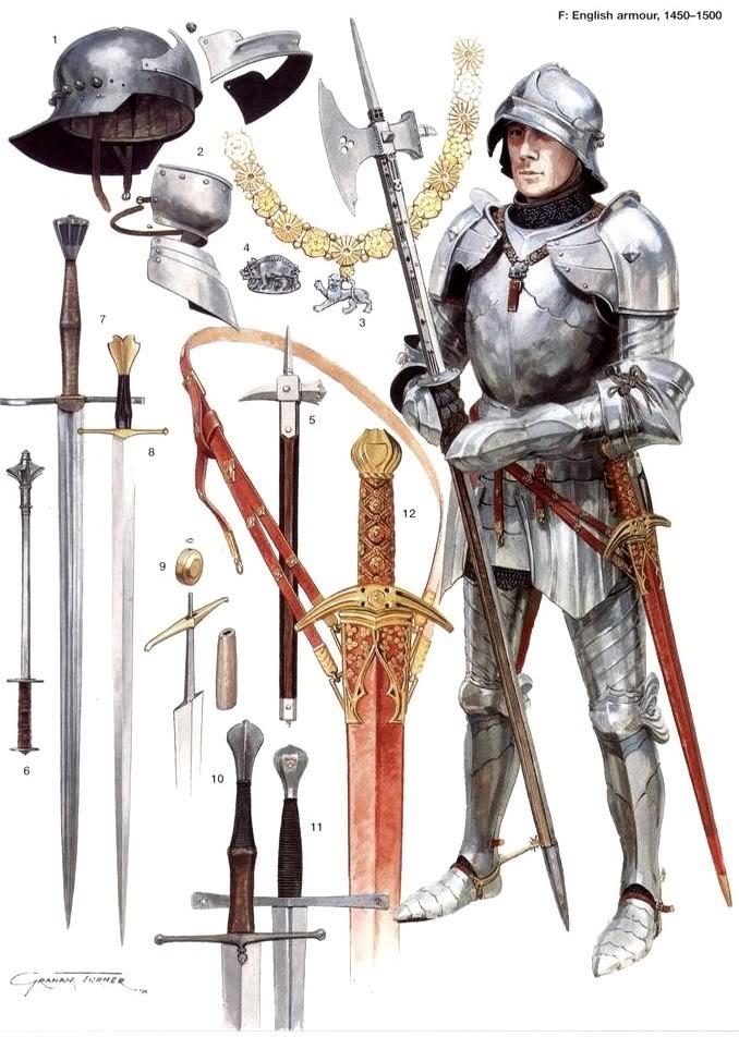 Armaduras y armas de los caballeros WCD3Dr