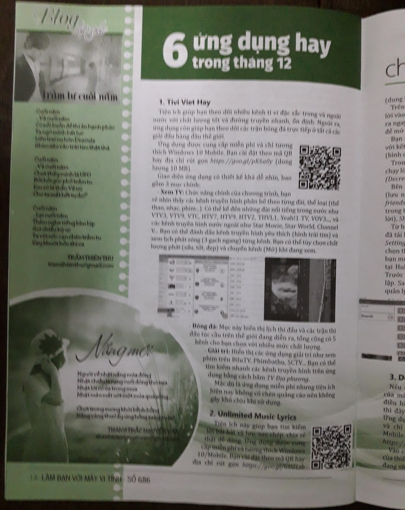Thơ Thanh Trắc Nguyễn Văn trên sách báo BLGv5t