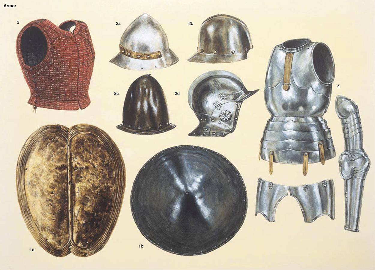 Armamento y equipo de los conquistadores españoles en el norte de América IJIvQx