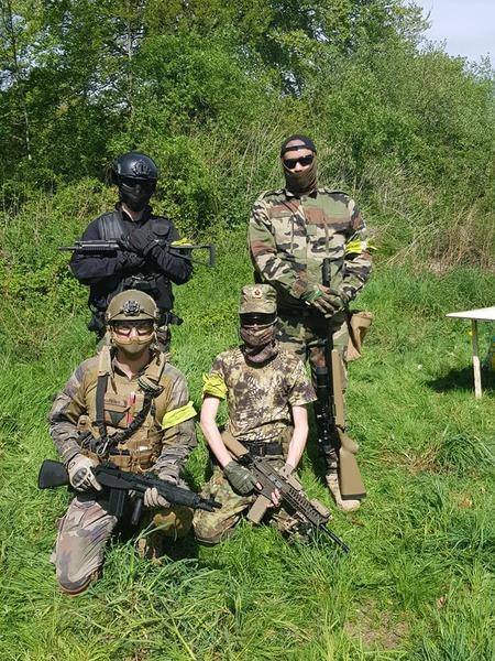 Eagle Squad Partie anniversaire 22/04/2018 GF8ske