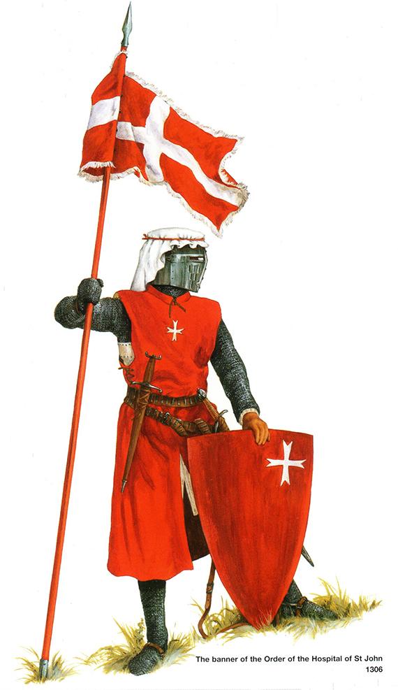Evolución del aspecto en combate de los caballeros hospitalarios (1160-1480) 1heV7G