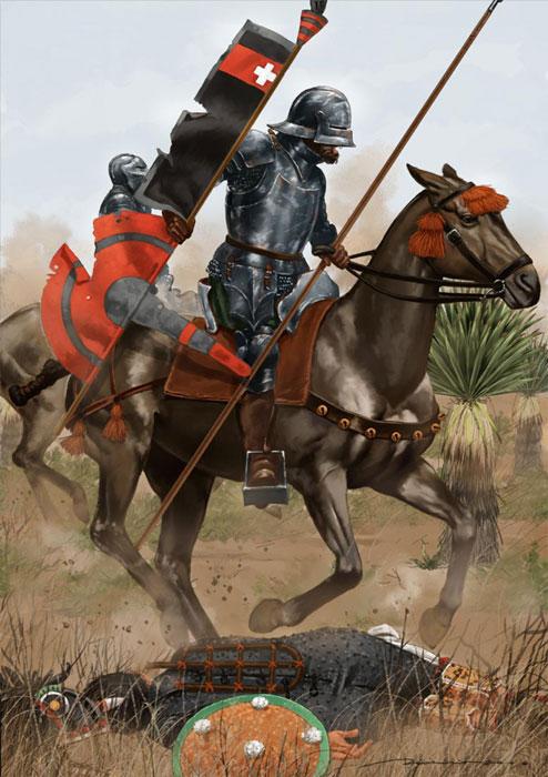 Armamento y equipo de los conquistadores españoles en el norte de América BNIuqn