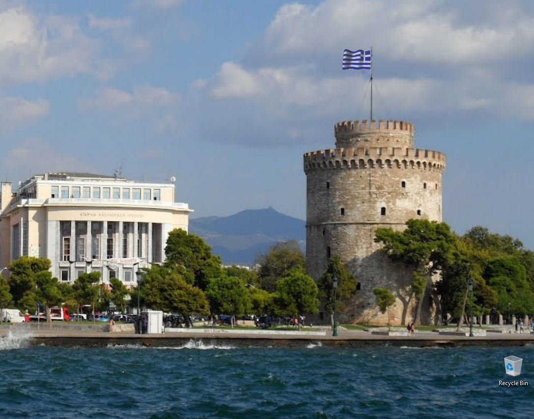 Ελληνική σημαία(Greek flag) PdnKqi