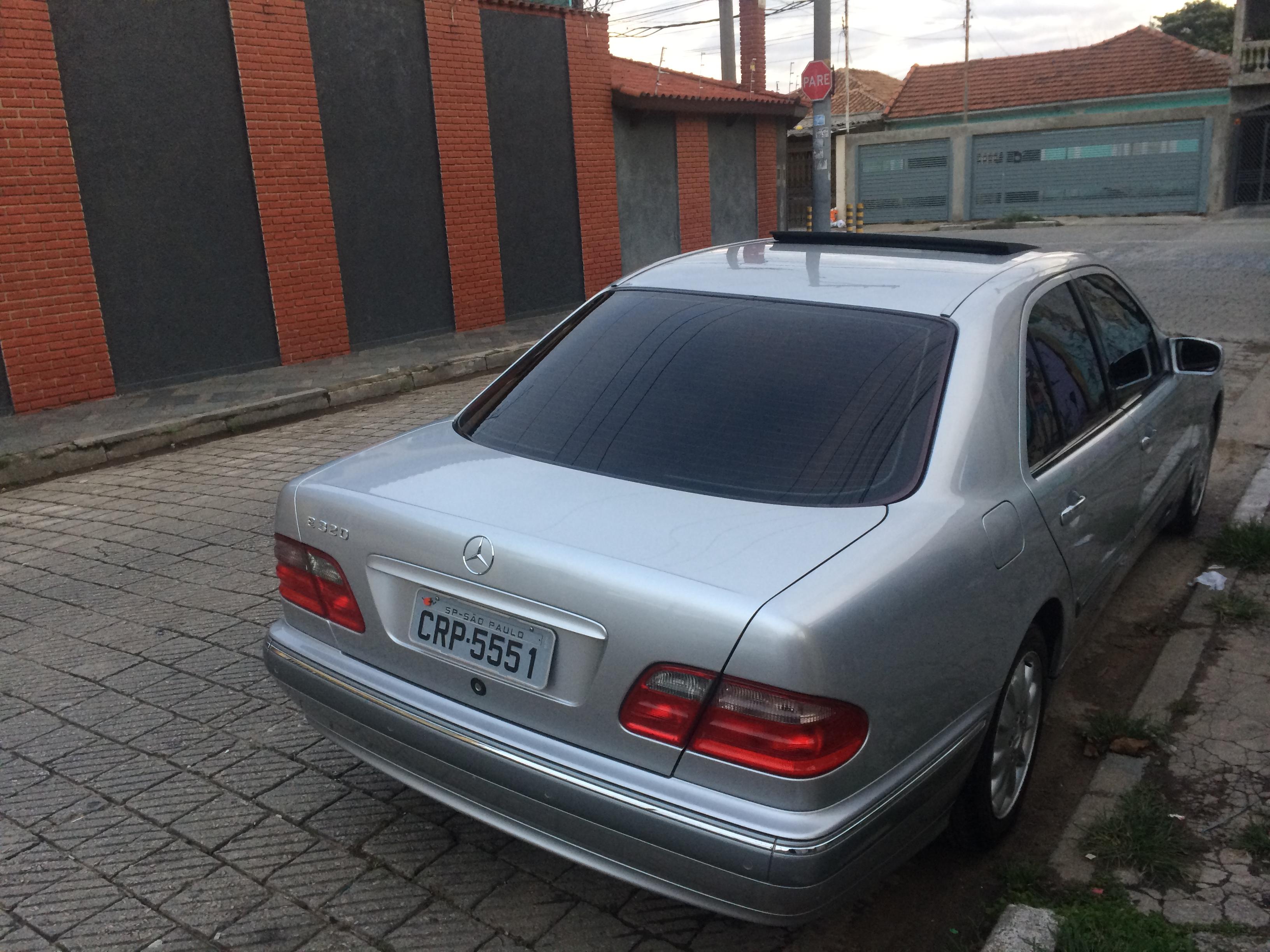 (VENDO): W210 E320 Elegance 2001 - R$37.000,00 - ARQUIVO 7gXUDK