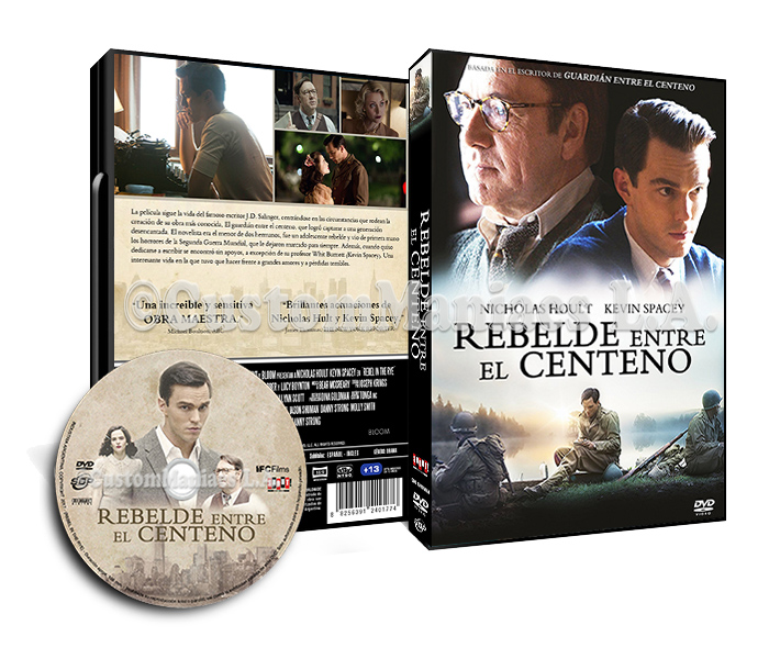 LIBERADA - Rebelde entre el centeno (Rebel In The Rye)  DVD + BLU-RAY KFkigx