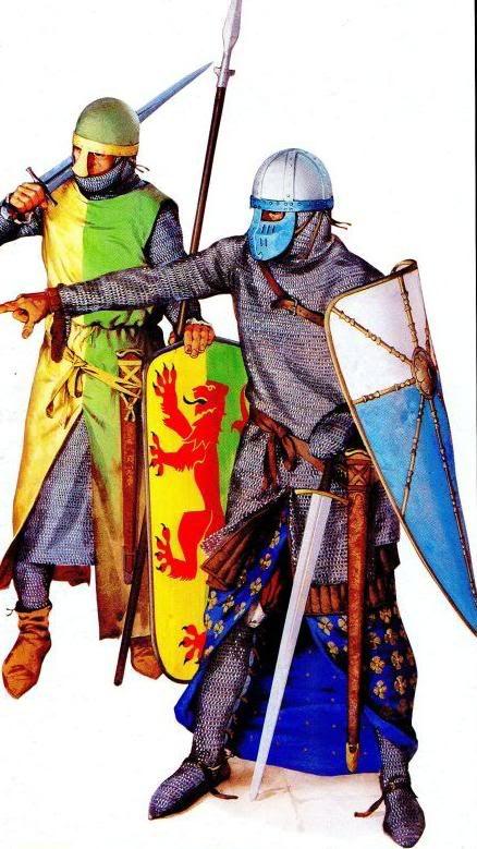 Armaduras y armas de los caballeros TA1dUJ