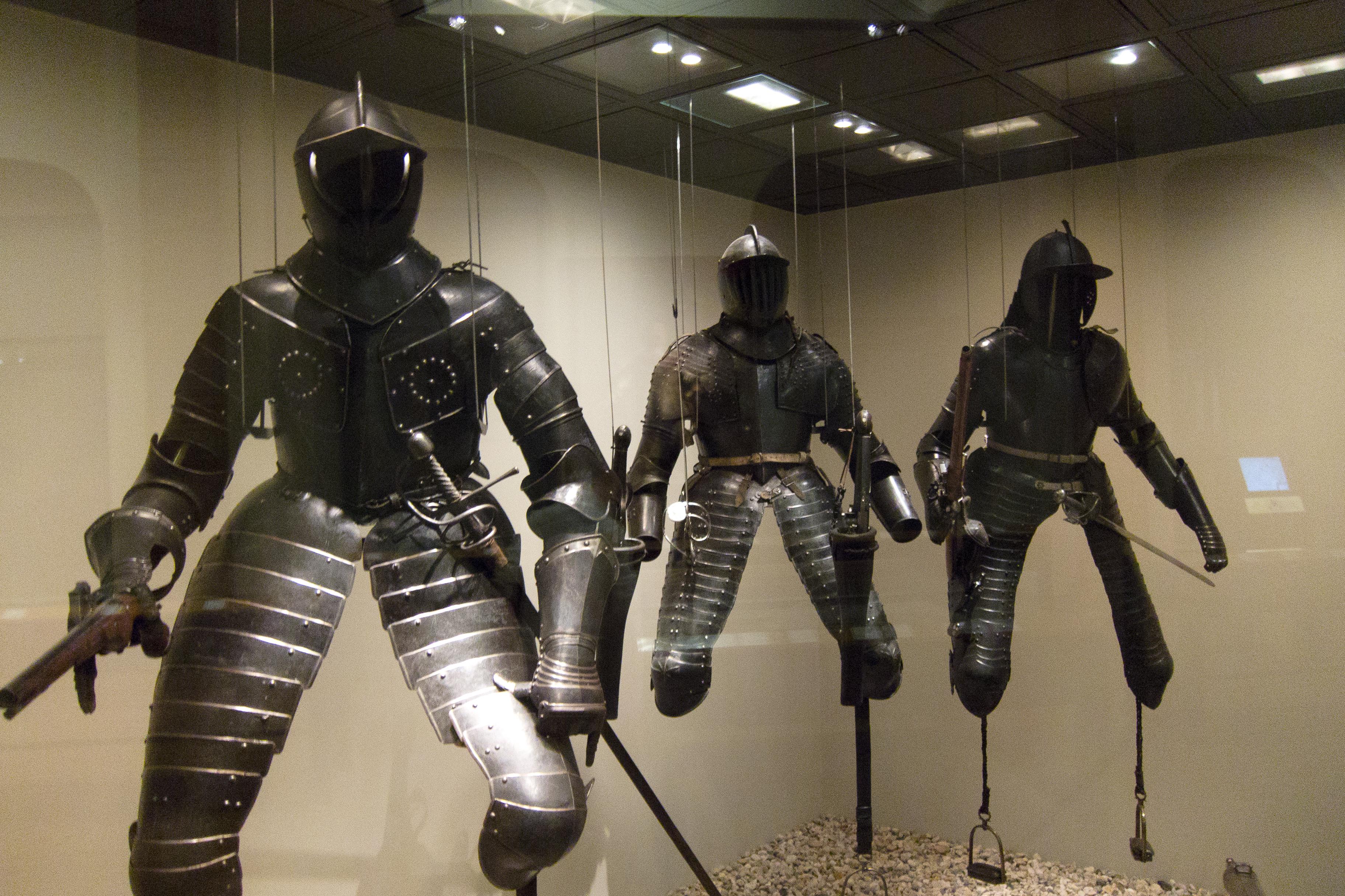 Armaduras y armas de los caballeros VD6bRI