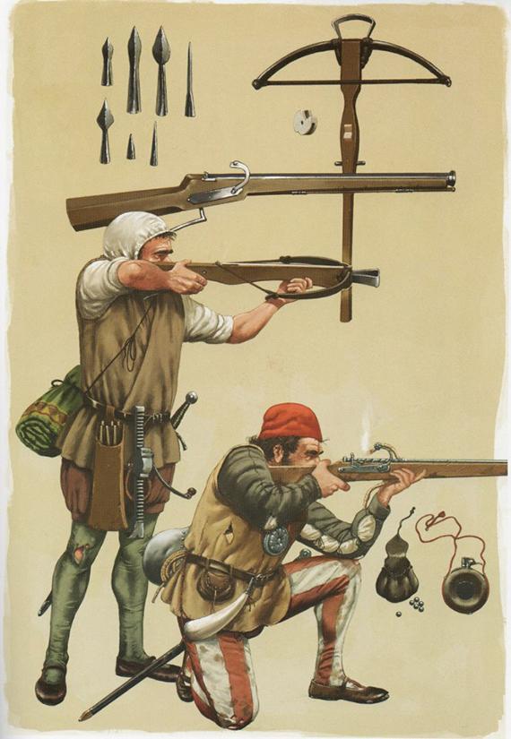 Armamento y equipo de los conquistadores españoles en el norte de América SVvbYx