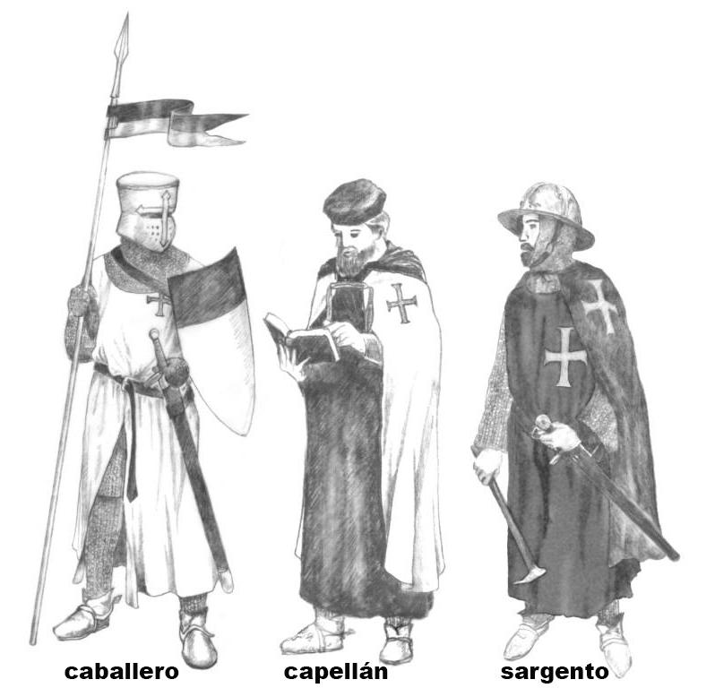 La Orden Militar del Temple (1118-1310) Armaduras, armas y equipamiento W6tGW4