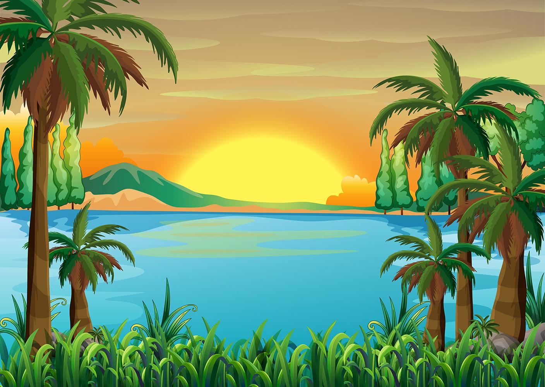 Paisaje Infantil-Playa J0Hkrk